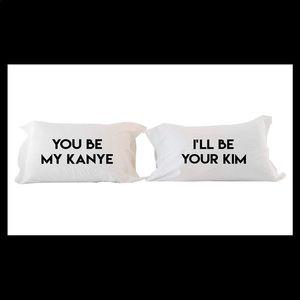 Power couple pillow case